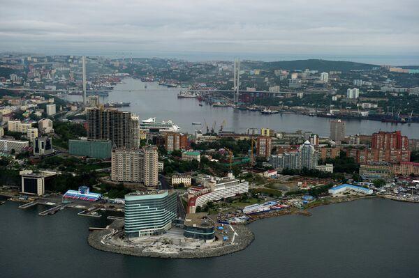 View of the city of Vladivostok - Sputnik International
