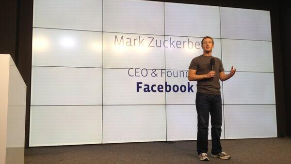 Mark Zuckerberg  - Sputnik International