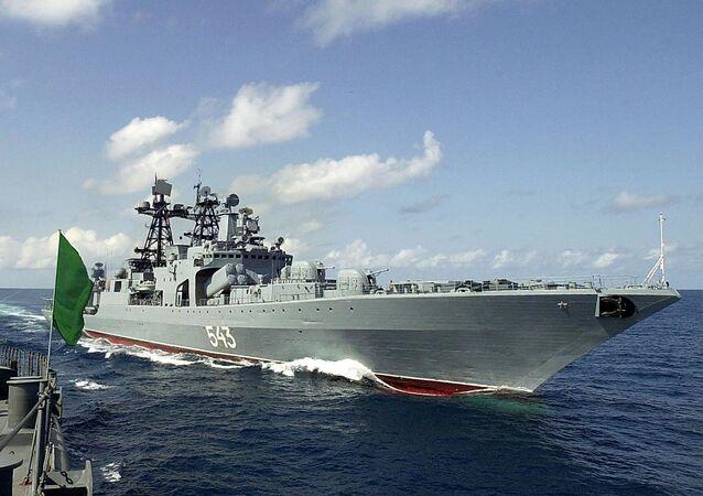 Russian destroyer Marshal Shaposhnikov