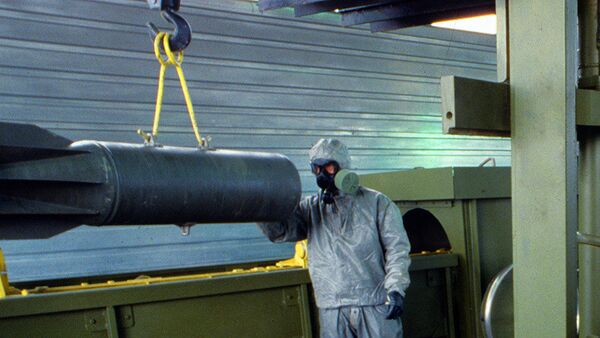 Russia Destroys Over 75% of Its Chemical Weapons Stockpile - Sputnik International