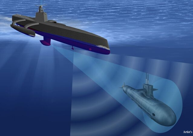 The drone submarine