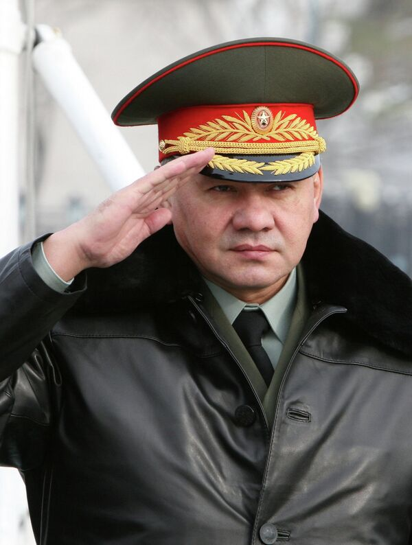 Defense Minister Sergei Shoigu (photo) also announced plans for the ministry to start producing compilation albums of patriotic songs, create a film studio dedicated to making patriotic movies - Sputnik International