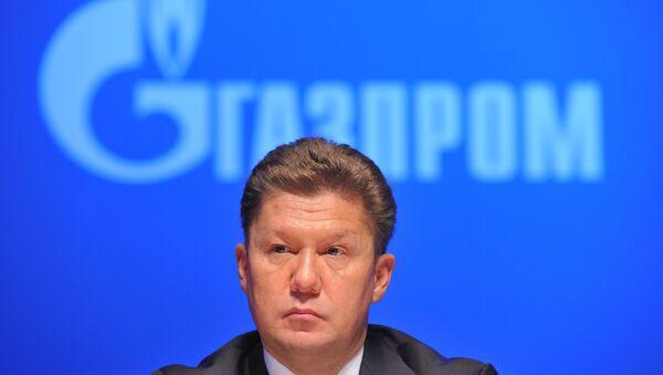 Gazprom CEO Alexei Miller - Sputnik International