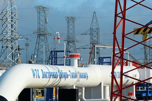 East Siberia-Pacific Ocean pipeline - Sputnik International