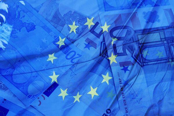 Annual inflation of eurozone dropped to 0.3% - Sputnik International