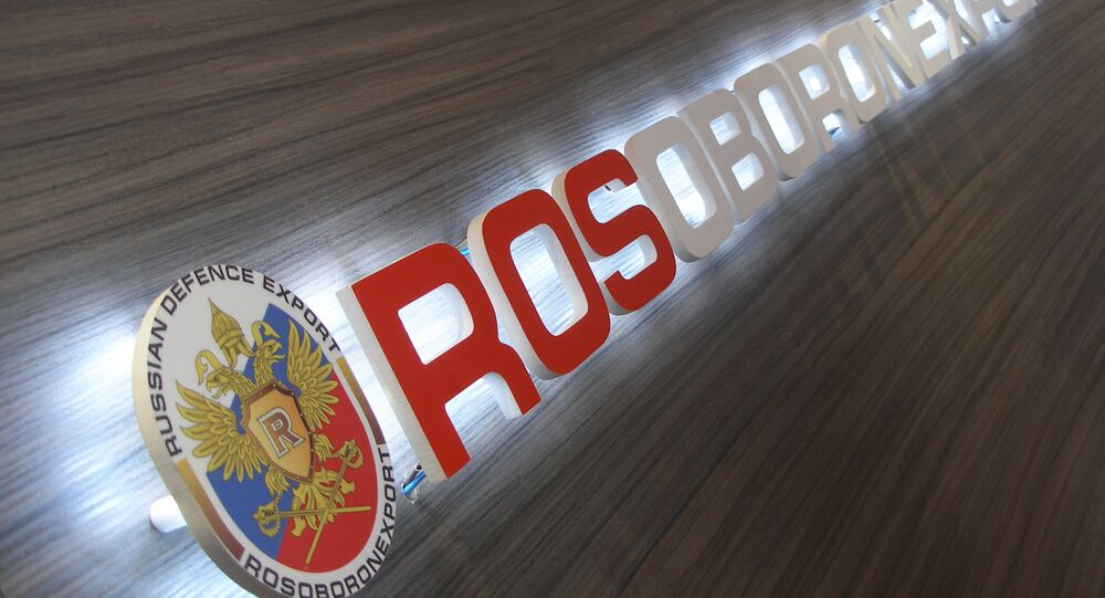 Russia's state arms exporter Rosoboronexport
