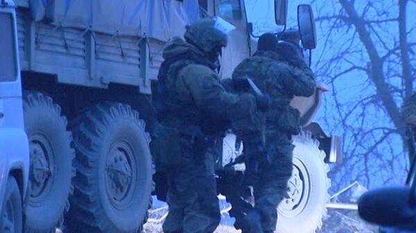 Terrorist attack in Khasavyurt (archive) - Sputnik International