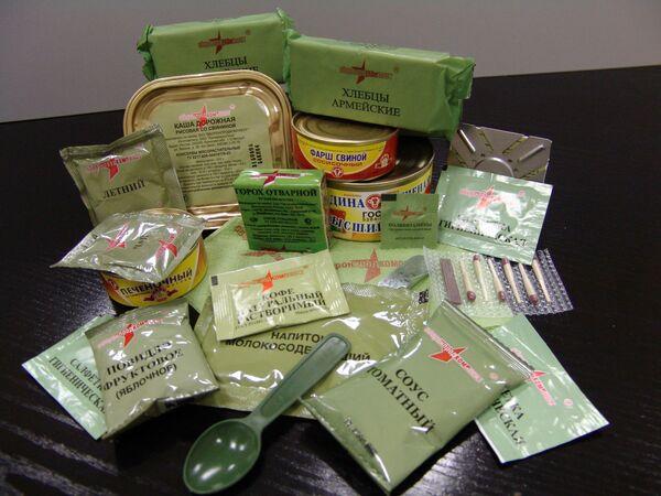 Russian military dry rations - Sputnik International