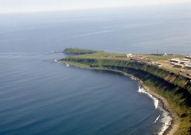 Курильские острова, остров Кунашир