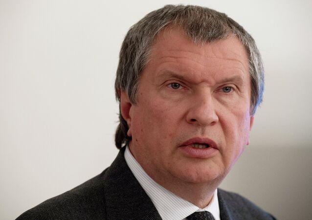 Президент ОАО НК Роснефть Игорь Сечин. Архив