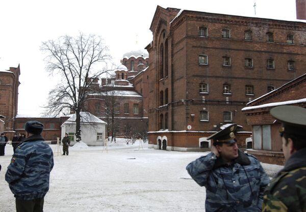 St. Petersburg's Kresty pretrial detention center (archive) - Sputnik International