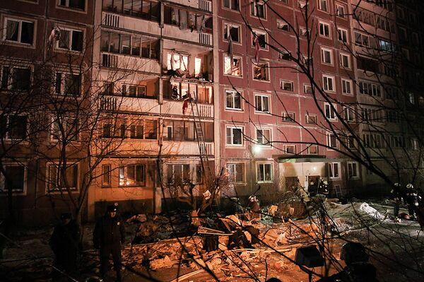 St. Petersburg gas explosion kills one, injures seven - Sputnik International