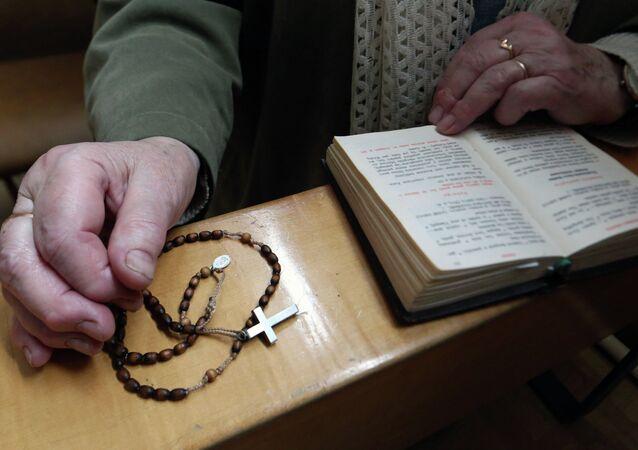 Празднование католической Пасхи в Калининграде