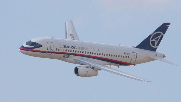 Sukhoi SuperJet-100 - Sputnik International