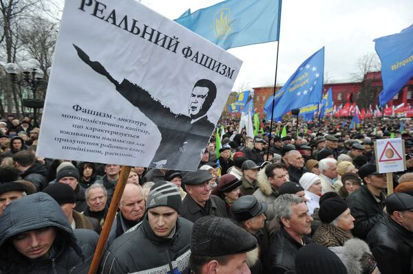 Ukrainian Opposition Says Rally in Kiev Draws 20,000 - Sputnik International