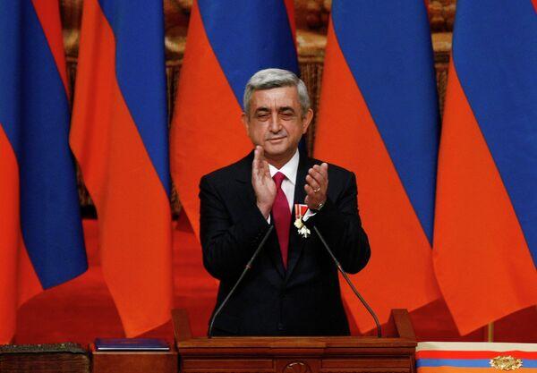 Inauguration of Serzh Sargsyan - Sputnik International