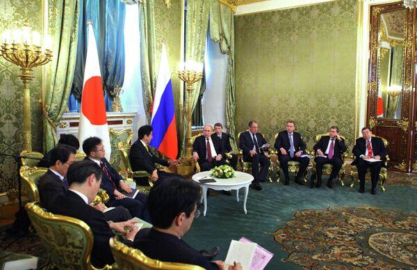 Russia Ready to Boost Energy Supplies to Japan – Putin - Sputnik International