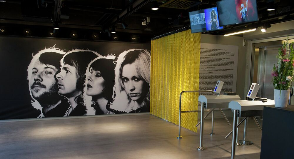 ABBA Museum in Stockholm.
