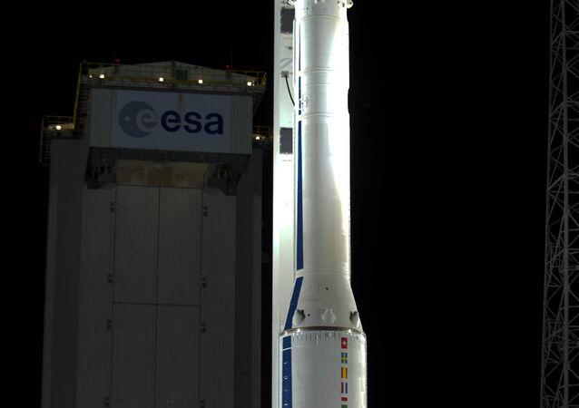 Новейшая европейская разработка ракета-носитель Vega (Вега)