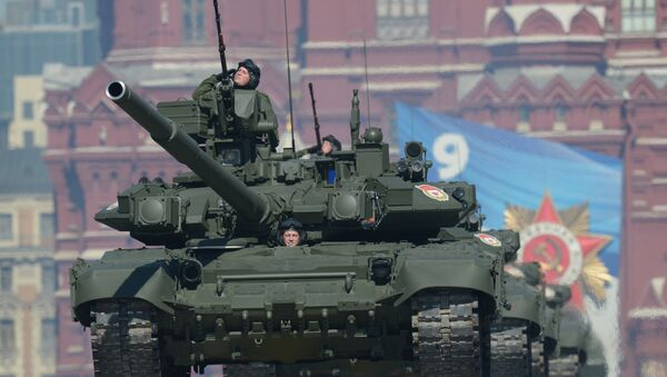all standing alert units of the Russian army will switch to two types of main battle tanks – the T-72 and the T-90 (photo) - Sputnik International