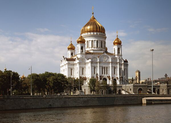 Moscow's Cathedral of Christ the Savior, the largest Orthodox church in Russia - Sputnik International