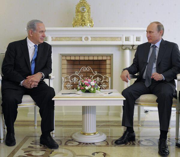 Netanyahu Meets Putin to Discuss Syria - Sputnik International