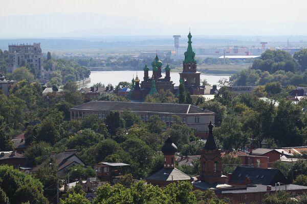 View of city of Krasnodar - Sputnik International