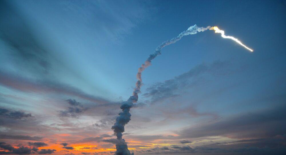 Liftoff of Ariane 5