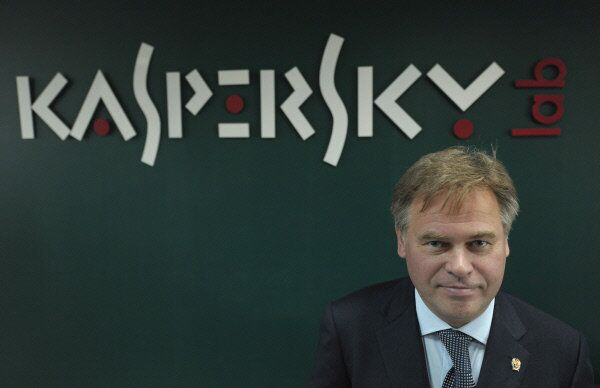 Yevgeny Kaspersky, CEO and co-founder of Kaspersky Lab, Europe's and Russia's largest anti-virus computer software producer, in the company's office.