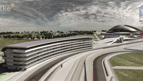The Russian Formula 1 Circuit in Sochi - Sputnik International