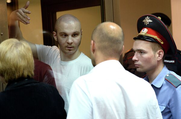 Vladimir Akimenkov (in the center) - Sputnik International