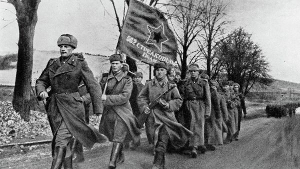 Soldiers of the Red Army - Sputnik International