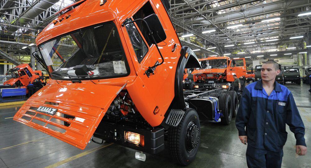 KAMAZ truck factory