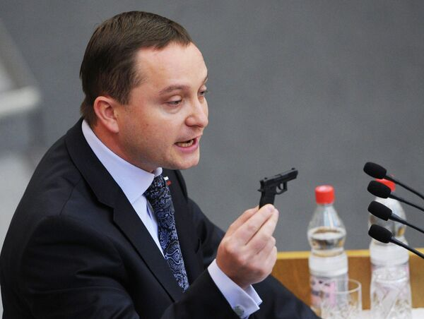 Lawmaker Roman Khudyakov from the nationalist Liberal Democratic Party of Russia (LDPR) (archive) - Sputnik International