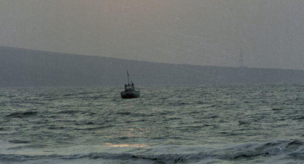 Vessel in Azov Sea (Archive)