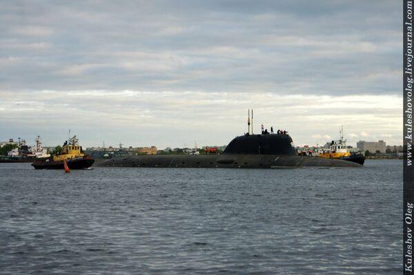 Yasen-class attack submarine Severodvinsk - Sputnik International