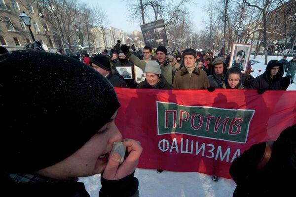 Filipp Galtsov (left) - Sputnik International