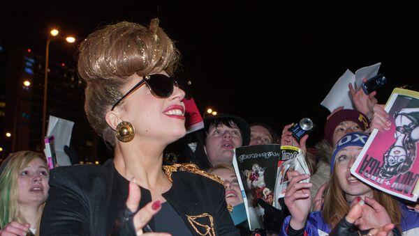 Lady Gaga in St. Petersburg (archive) - Sputnik International