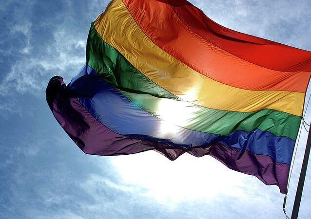 Радужный флаг ЛГБТ-движения