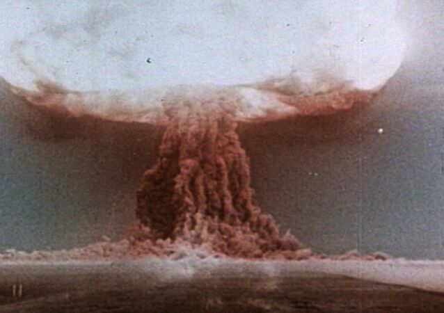 The First Soviet H-Bomb Test on August 12, 1953