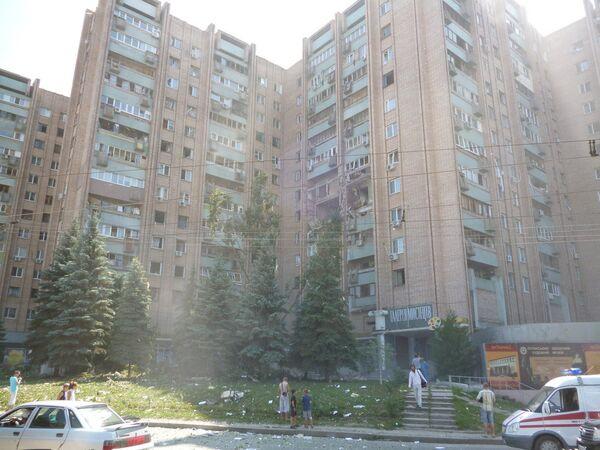 Взрыв газа в доме в Луганске - Sputnik International