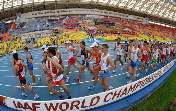 Sunshine Draws Russians Away From Moscow Athletics - Sputnik International