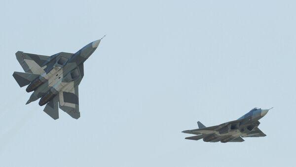 T-50 fifth-generation fighters - Sputnik International