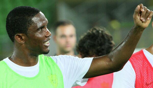 New Chelsea striker Samuel Eto'o - Sputnik International