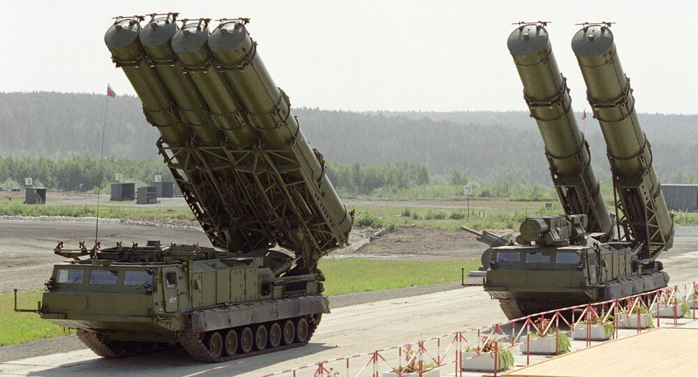 S-300 missile system at the Second Ural Arms Exhibition. Phile Photo