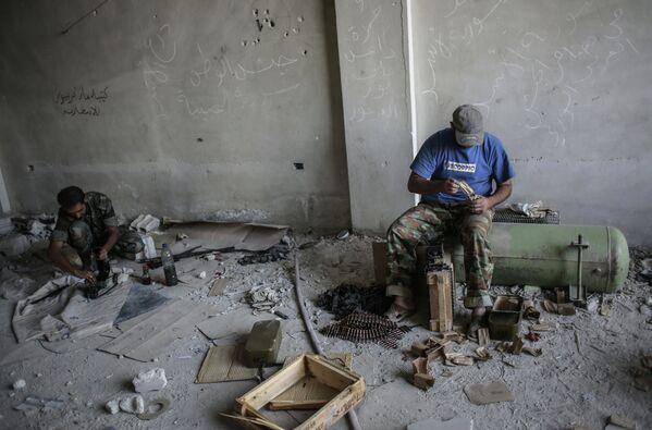 Syrian Soldiers Prepare for Western Strike - Sputnik International