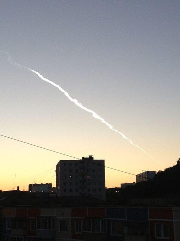 Vladivostok Fireball Was Rocket, Not Meteor – Scientist - Sputnik International
