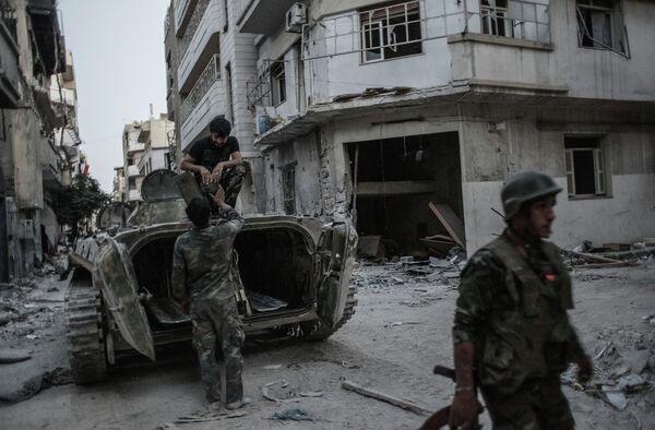 Homs: Regained From Syrian Rebels - Sputnik International