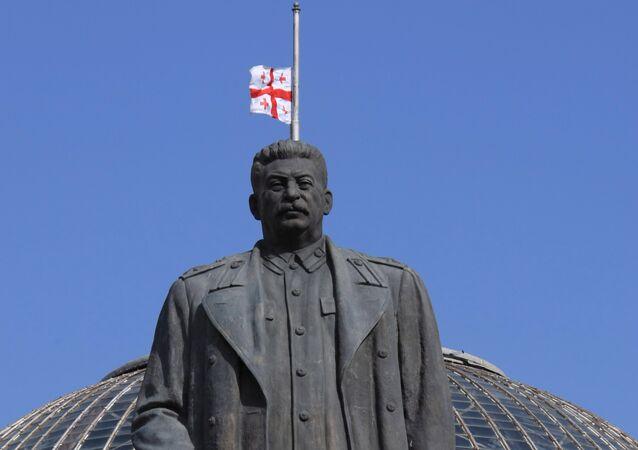 Stalin Monument in Gori, Georgia. File Photo.