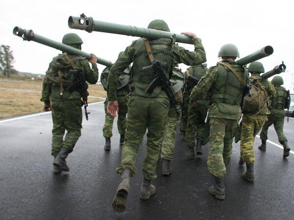 Zapad 2009 military drills (archive) - Sputnik International